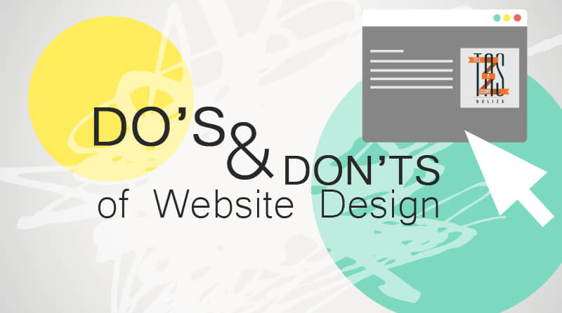 Dos and Don'ts for Web Designers