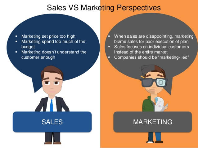 How to manage the tension between sales and marketing departments