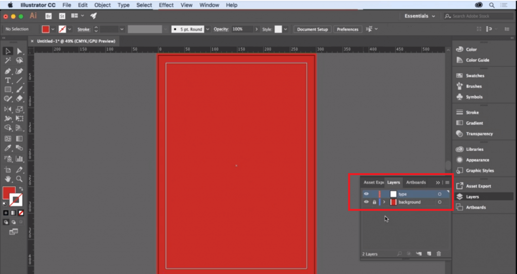 How to set up a document in Illustrator