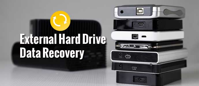 Is it possible to recover lost data from an external hard drive?