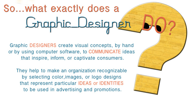 What is a graphic designer and why we need him